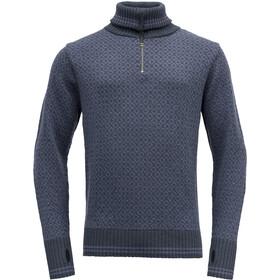 Devold Slogen Couche intermédiaire Homme, bleu/gris